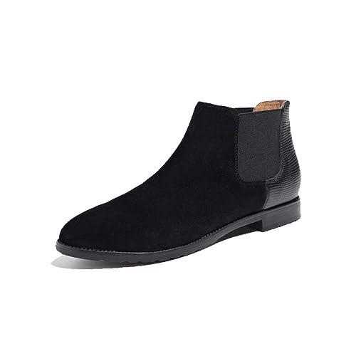 ZPEDY Botines Chelsea, Gruesos con Botas Martin, Botines Planos Y para Mujer, Botines Cortos.: Amazon.es: Zapatos y complementos