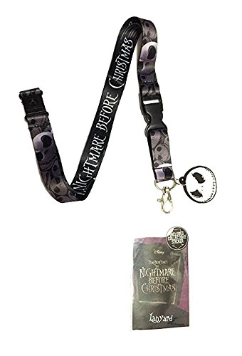Nightmare Before Christmas Jack Lanyard