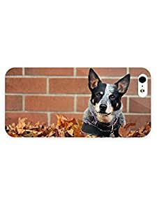 3d Full Wrap Case for iPhone 6 plus 5.5 Animal Dog In The Leaves20