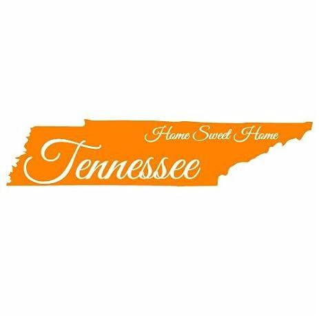 U s custom stickers tennessee home sweet home state sticker 3