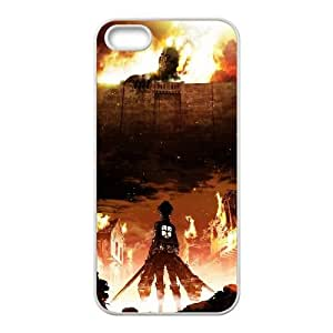 Shingeki iPhone 5 5s Cell Phone Case White Protect your phone BVS_536381