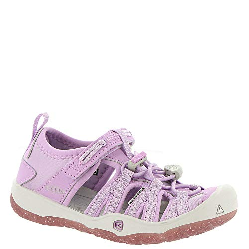 Keen Kids Baby Girl's Moxie Sandal (Toddler/Little Kid) Lupine/Vapor 11 M US Little Kid