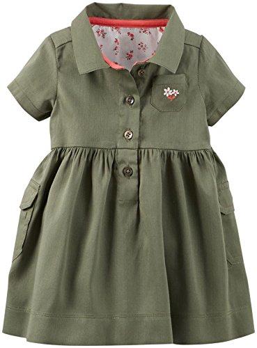 Carters Baby Girls Sateen Dress