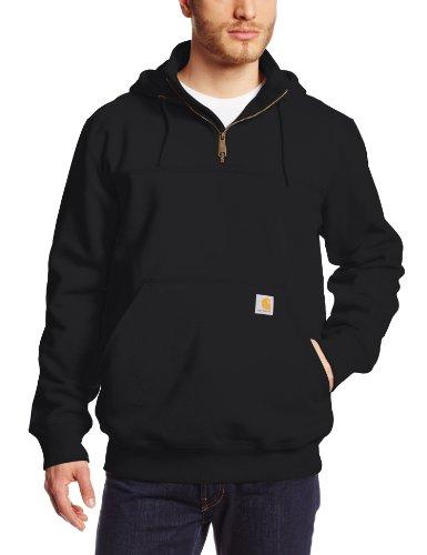 Defender Paxton Heavyweight Hooded Sweatshirt, Black, X-Large/Tall ()