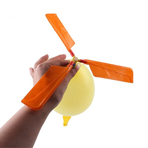 Hot Sale!UMFun Balloon Helicopter Flying Toy Child Birthday Xmas Party Bag Stocking Filler Gift]()