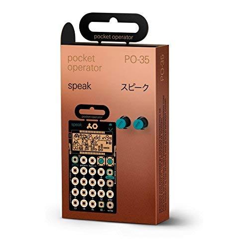 Teenage Engineering PO-35 Speak Pocket Operator Vocal Synthesizer with 1 Year EverythingMusic Extended Warranty Free by Teenage Engineering (Image #3)