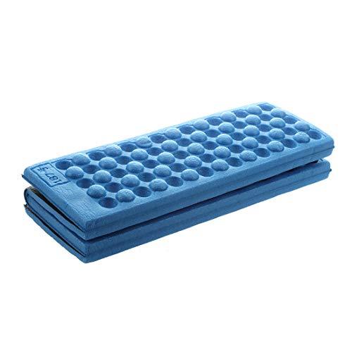Cushion - Personalized Folding Foam Waterproof Seat Pad Chair Cushion Blue - Extra Brush Holder Your Roho Headphones Zero Tray Mat Orthopedic