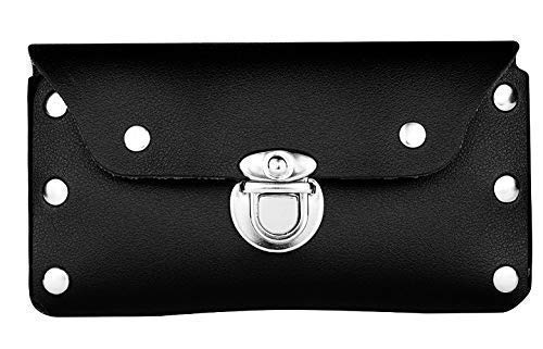 Durable Leather Belt CASE Cell Phone Pouch Compatible with Apple, Samsung, LG and Other Mayor Brands, ESTUCHE O…