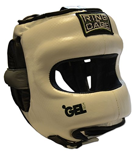 Deluxe Full Face GelTech Sparring Headgear Synthetic Leather for Boxing, Muay Thai, MMA, Kickboxing – DiZiSports Store