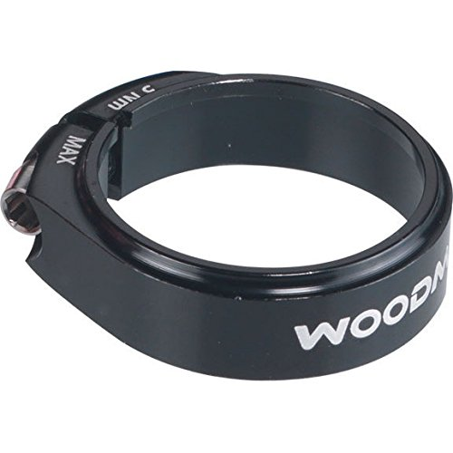 Woodman Deathgrip-SL seat clamp, 34.9mm - black by Woodman