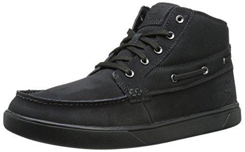 Timber Groveton Boat Chukka Black
