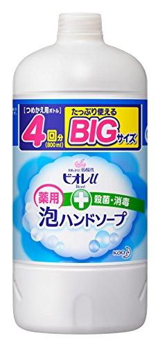 Biore Japan - Biore u Foaming Hand Soap Refill 800ML