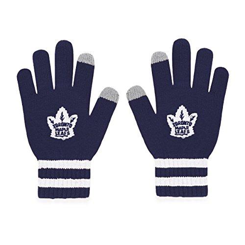 NHL Toronto Maple Leafs Men's Sportsman Touch OTS Glove, Light Navy, Men's