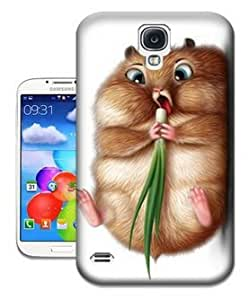 Hot Sale Phone Cover Protector for All People with Cat Eating the Garlic Snap on Hard Plastic Case for Samsung S4 Case