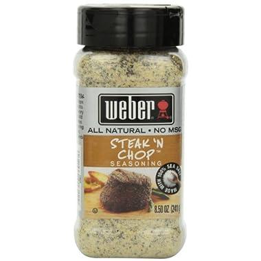 Weber Steak N' Chop Seasoning 8.5 oz