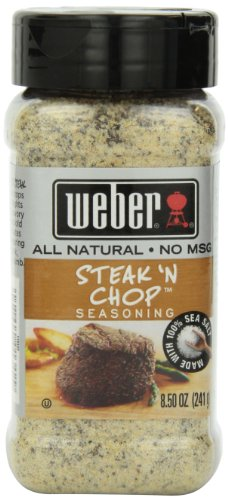 Weber Steak N' Chop Seasoning 8.5 oz (Pork Spice Chops)