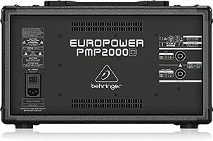 Behringer Pmp2000D - Mesa de mezclas: Amazon.es: Instrumentos ...