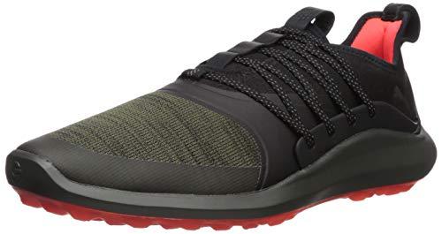 Puma Golf Men's Ignite Nxt Solelace Golf Shoe Burnt Olive Aged Silver-Puma Black, 10.5 M ()