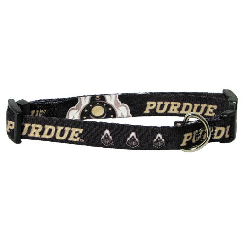 NCAA Purdue Boilermakers Adjustable Pet Collar, Team Color, X-Large