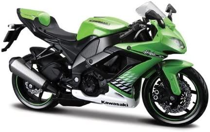 Maisto 531187 - Moto Kawasaki ZX-10R 10 (Escala 1:12)