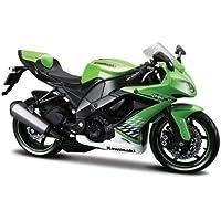 Maisto 531187 - Moto Kawasaki ZX-10R '10 (Escala