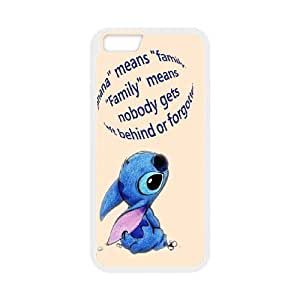 JenneySt Phone CaseCartoon Lilo & Stitch wallpaper For Apple Iphone 6 Plus 5.5 inch screen Cases -CASE-16