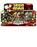 "Marvel Super Hero Squad 3"" Figures 1st Appearance Iron Man, Iron Monger, War ..."