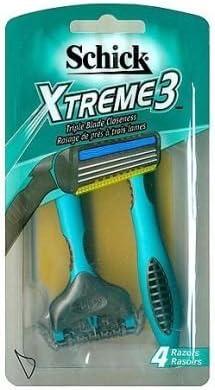 Xtreme 3 – Afeitadora corporal desechables con 3 cuchillas – con ...