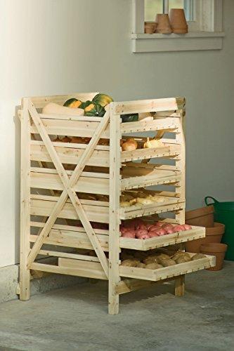 Orchard Rack, Garden Harvest Rack, 6 Drawer by Gardener's Supply Company (Image #2)
