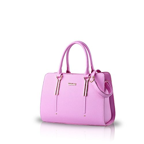 Cmtpyy Bag New Fashion Simple Women Shoulder Bag Crossbody Bag Big Red Wine Red Pink