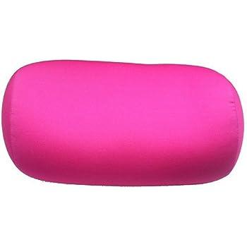 Microbead Cushie Roll Pillow 7 x12 - Pink by Cushie Pillows