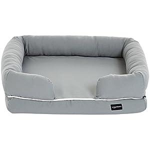 AmazonBasics – Sofá cama para mascotas, Pequeño