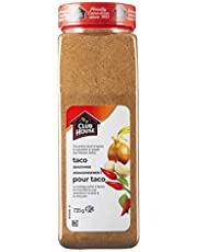 Club House, Quality Natural Herbs & Spices, Taco Seasoning, 735g
