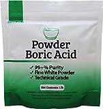 Duda Energy borp1 Fine Powder Boric Acid H3BO3 99, 1 lb. (Packaging...