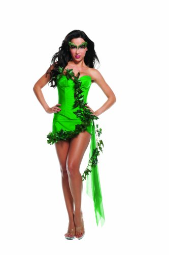 Starline Sexy Ivy Girl Cosplay Women's Costume, Green, Small