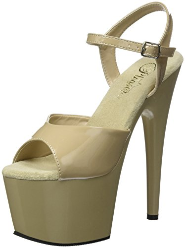 Tacco Scarpe Donna Pleaser Cream Cream Pat Beige col 709 Adore 1InIxCqH
