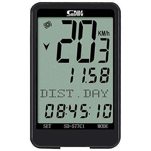 Sunding Wireless Bike Computer Bicycle Speedometers Cycling Odometers Waterproof