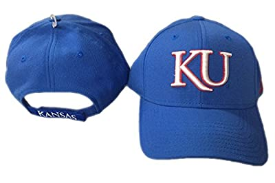 adidas Kansas Jayhawks Blue Campus Collection Hat Cap - One Size