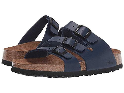 Birkenstock Betula Licensed Women's Leo Soft Navy Birko-Flor¿ 40 N - Narrow Strap Sandals