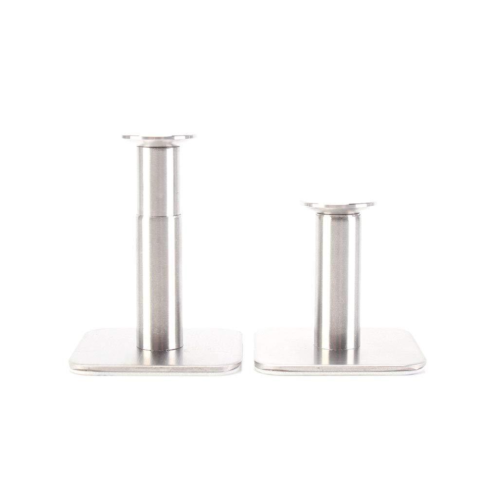 Extensible supporto del basamento per cuffie adesivo muro in acciaio inox Ganci gancio per appendere Bagno Home Office con 2 adesivo nastri 1pc
