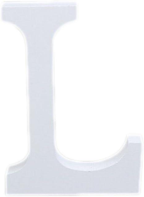 3D Numero Lettere Alfabeto in Legno Muro Appeso Arredamento Festa Matrimonio C