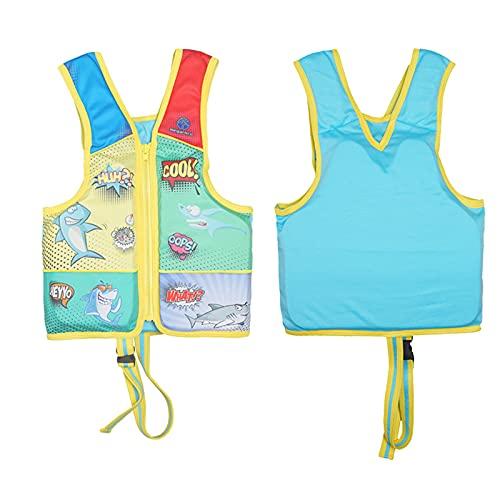 Boy Life Jacket Kids Zwemvest Zwemmen Vest Zwevend Badpak EU CE-certificering met been Veiligheidsgordel voor zwembaden…