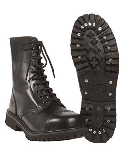 Mil-TEC Invader boots 10-hole Negro negro Talla:41