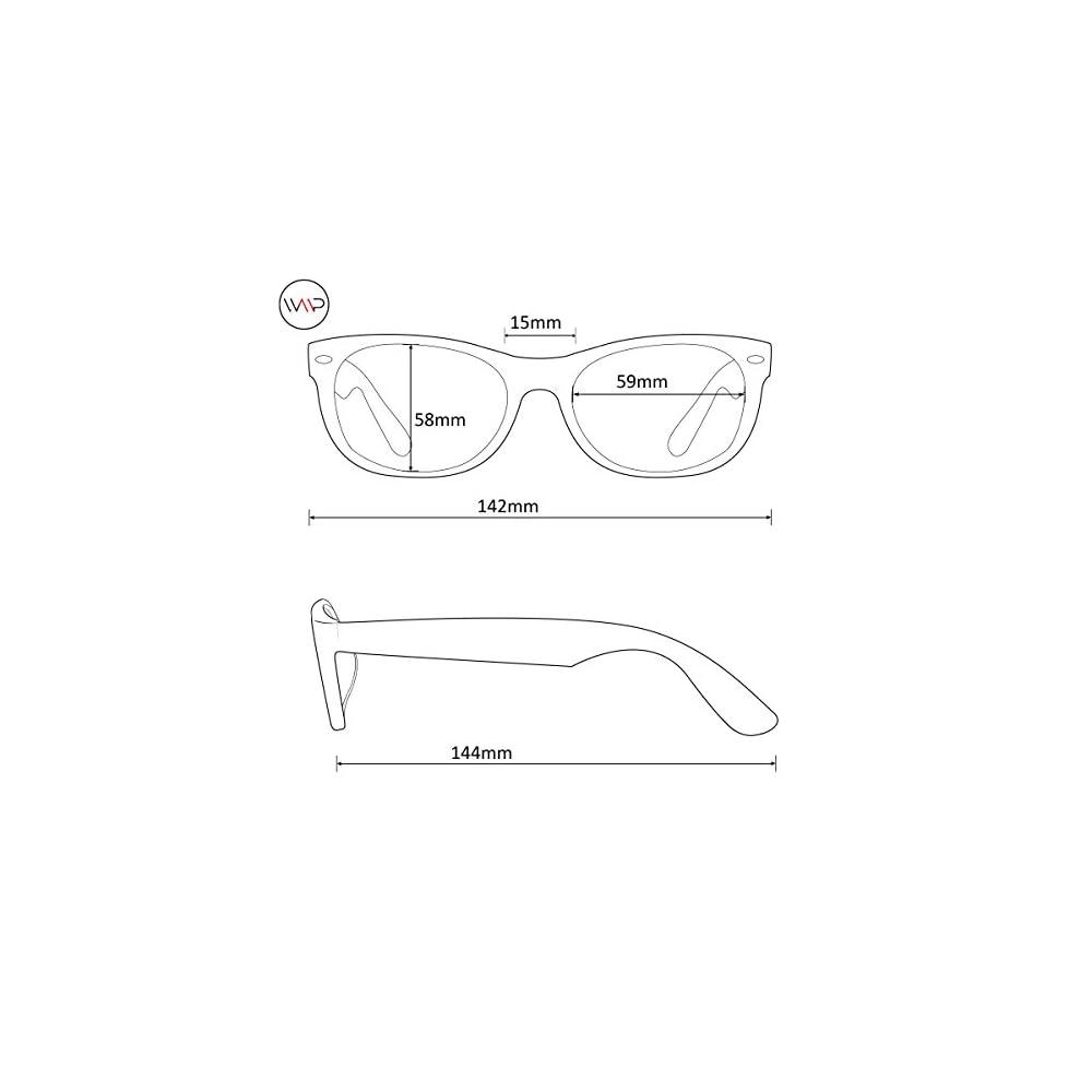 748cea206e WearMe Pro – Colorful One Piece Transparent Round Super Retro Sunglasses