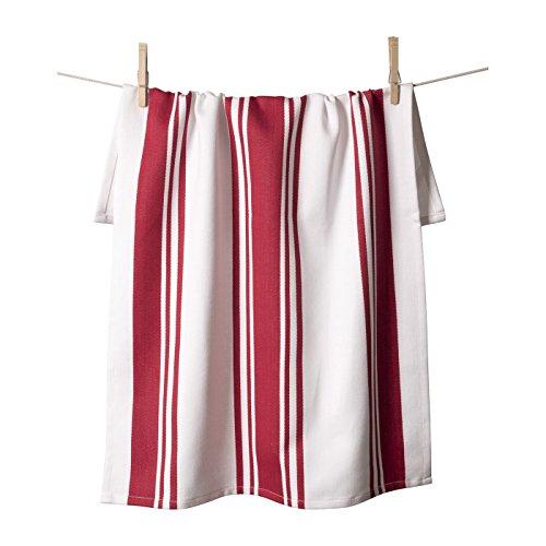 (KAF Home Center Band Kitchen Towel, 100% Cotton, Super Absorbent, Oversized at 20