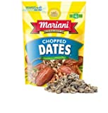 Mariani, Chopped Dates, 8oz Pouch (Pack of 4)