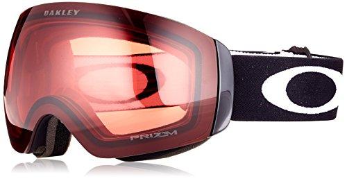 Oakley Flight Deck XM Snow Goggles, Matte Black, Prizm Rose, Medium