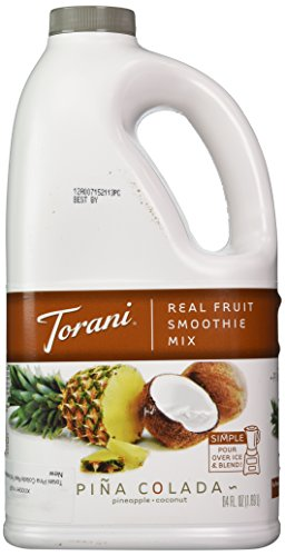 Torani Pina Colada Real Fruit Smoothie Mix, 64 Oz