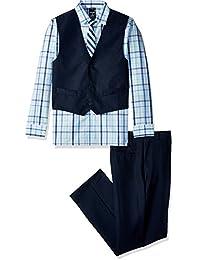 Big Boys' Four Piece Vest Set