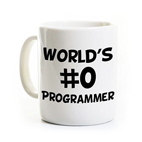 (World's Best Programmer Gift - Ceramic Coffee Mug - 11 or 15 Ounce - Personalized)